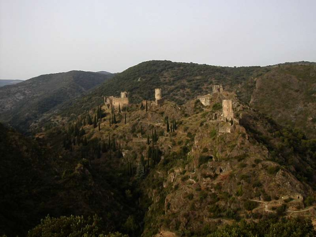 Holiday homes to visit Cathare castles